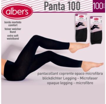 Colant din microfibra elasticizata cu elastan, 100 DEN, moale si confortabil. alber's Leggings 100 Den