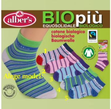 Ciorapi din bumbac organic (biologic) pentru copii. Ofera picioarelor copilului tau confort si protectie intreg sezonul estival!