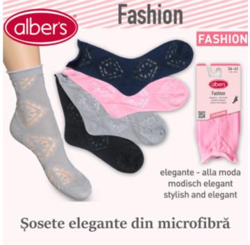 Sosete elegante din microfibra - alber's FASHION! Fii in trend cu alber's!