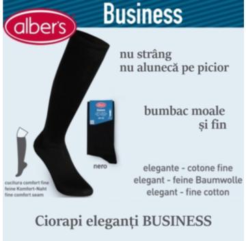 Ciorapi lungi eleganti BUSINESS din bumbac moale si fin