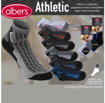 Ciorapi sport din microfibra Tactel®! Ciorapi ideali pentru cei ce iubesc miscarea si sportul! alber's Athletic