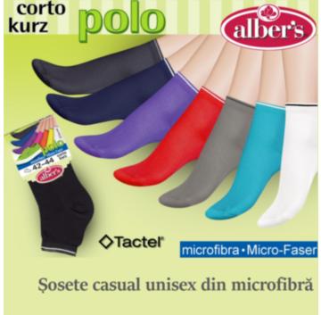 Sosete casual unisex din microfibra Tactel®. Culori la moda