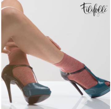 Sosete cu lurex - Filifolli Lecce. Pentru fashioniste si nu numai!