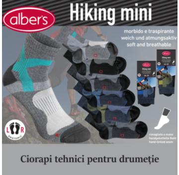 Ciorapi tehnici pentru hiking. Ciorapi sport cu forma anatomica
