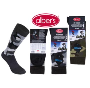 Ciorapi ALL SEASON din bumbac cu fibre Coolmax®. Potriviti pentru activitati sportive si recreative