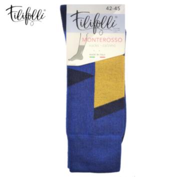 Ciorapi eleganti colorati din bumbac - Filifolli Monterosso