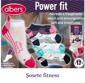 Sosete sport / fitness pentru femei - alber's Power Fit. Ideale pentru sala