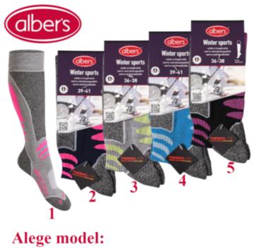 Ciorapi sporturi de iarna pentru femei - alber's WINTER SPORTS (Art. 678)